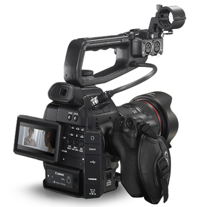 CANON EOS C100 camera