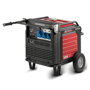 1-5.5 KW Honda Portable Generators